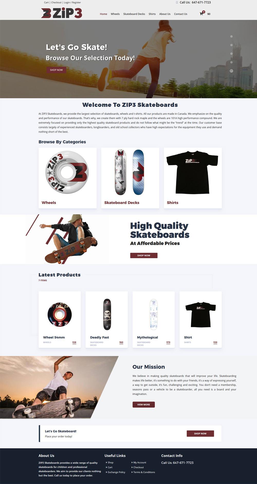 eCommerce Website Development London, ON