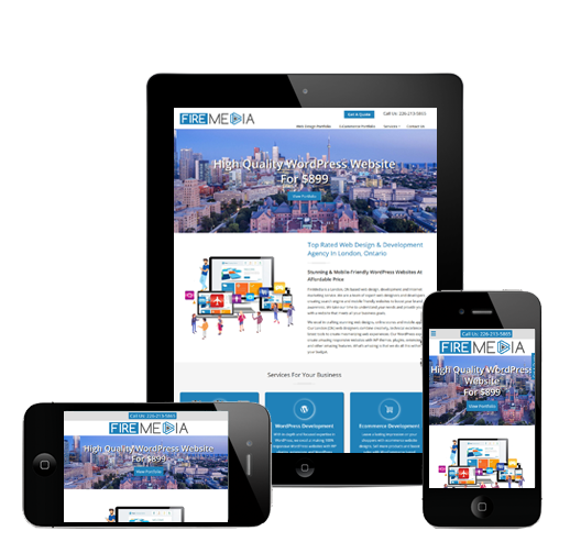 Responsive Website Development London, Ontario