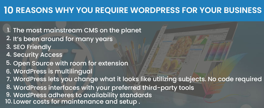 10 Reasons Why You Require WordPress For Your Business
