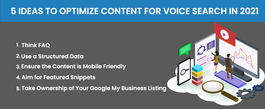 5 Ideas to Optimize Content For Voice Search in 2021